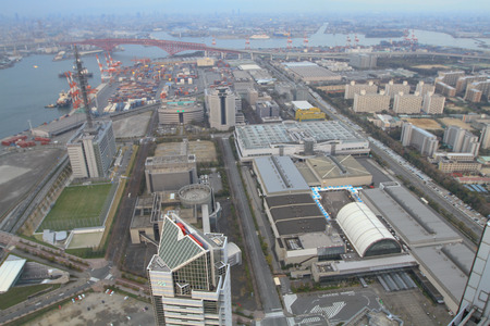 an Industries locate around a Osaka Bay