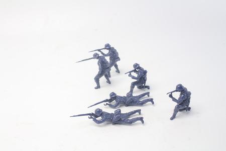 the fun of mini figure soldier at display