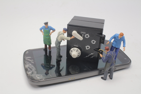 the group of a fun worker figure