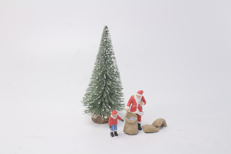 a fun of Happy Santa Claus Doll