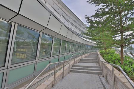 Roof garden at High speed railway station
