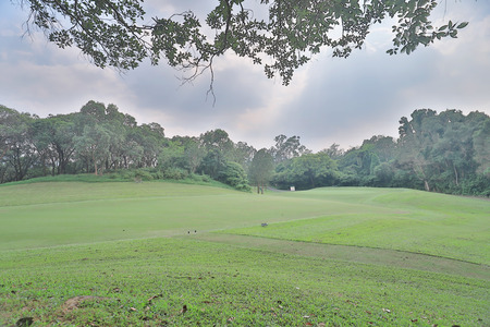 country Club golf course in Hong Kong