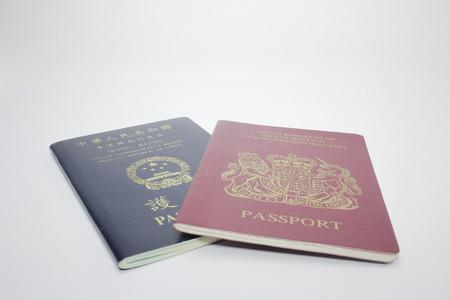 BNO and SAR passport of hong kong
