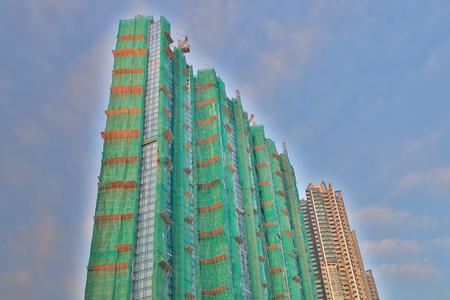 a luxury apartments under construction at LOHAS Park