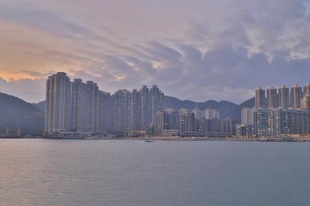 an estate condominium at Tiu Keng Leng