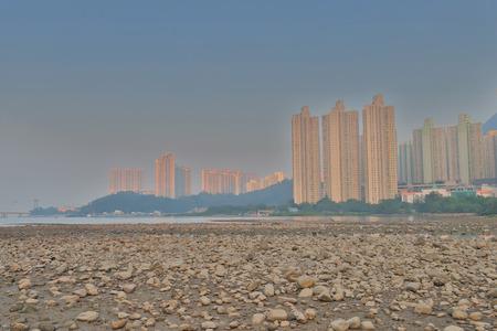 a view of Tung Chung bay hong kong