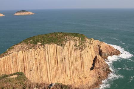 Hong Kong Global Geopark in Hong Kong 写真素材