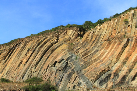 the landscape of hk MacLehose Trail Stock Photo