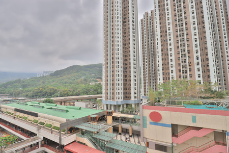Residential district in Tsuen Wan Hong Kong