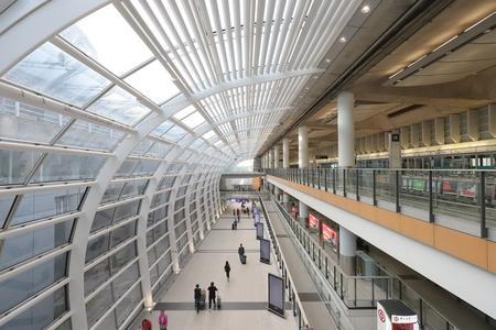 Hong Kong, 11 may 2019: hk aiport express station.