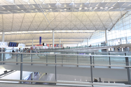 Hong kong,11 may 2019: Hong Kong International Airport.