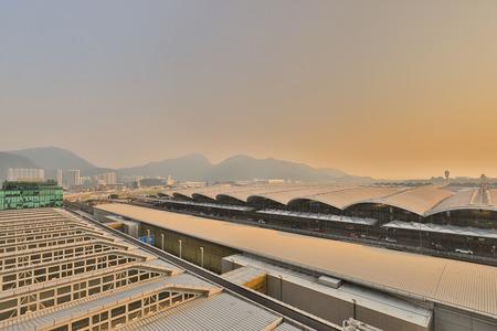 Hong kong,11 may 2019: the Terminal 1 at hk aiport.