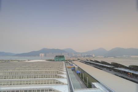 Hong kong,11 may 2019: the Terminal 1 at hk airport.