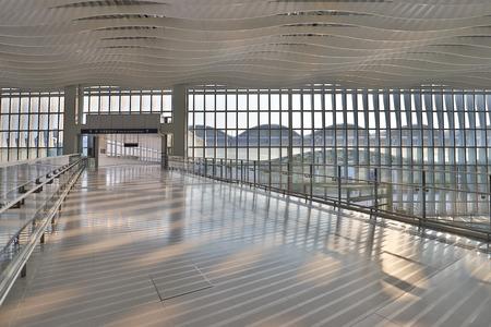 Hong kong,11 may 2019: Terminal 2 hk airport.