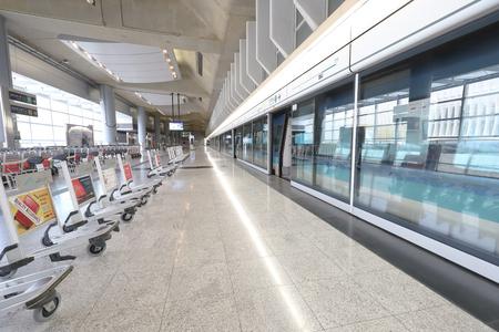 Hong kong,11 may 2019: hk aiport express station.