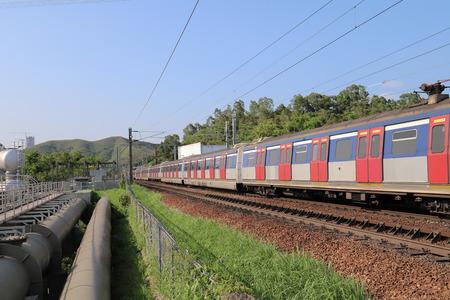 railway at Sheung Shu Zdjęcie Seryjne