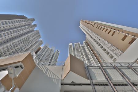Hong kong,12 may 2019: Sheung Shui building at hong kong. Editorial