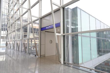 Hong kong,11 may 2019: interior hk International Airport.