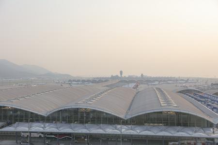Hong kong,11 may 2019: Hong Kong International Airport