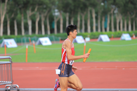 Hong Kong, 18 may 2019: The inter-district sports competitions of the 7th hong kong Game.