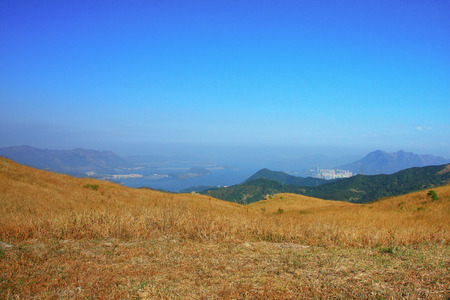 the Tai Mo mountain scenery