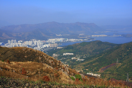 the Tai Mo mountain scenery