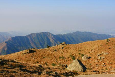 The Tai Mo mountain scenery Imagens