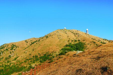 The Tai Mo mountain scenery 版權商用圖片