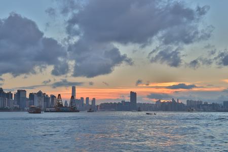 hong kong landscape 写真素材 - 124660519