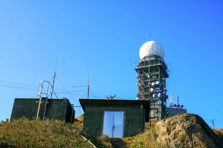 the radio station at Tai Mo mountain