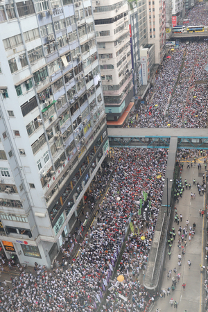 People March against Hong Kong Extradition Bill on 9 June 2019 Sajtókép