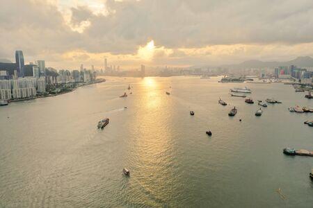 Lei Yue Mun channel scenery