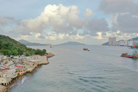 Lei Yue Mun water bay scenery