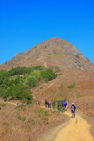 Maclehose Trail scenery at hong kong