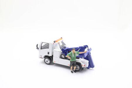 miniature of Worker of a car repair