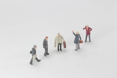 Small Business Man Figure, marco photo