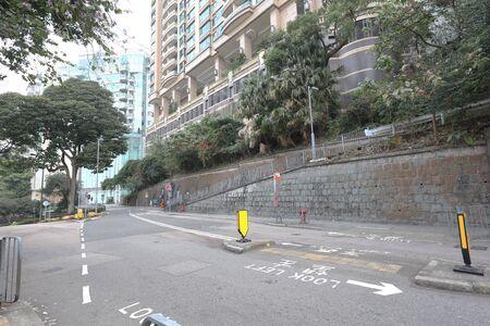24 jan 2020 a west of island city view at hong kong Stock Photo
