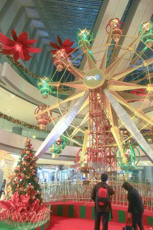 interior of the IFC shopping mall at hong kong 16 dec 2008
