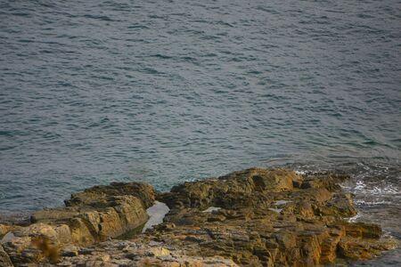 the coast landscape of sai kung hong kong  Banco de Imagens