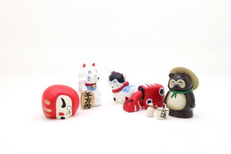 10 April 2020 a mascots of japan, the lucky of toy