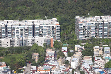 Tai Po Tsai site of New World house buliding 13 April 2020