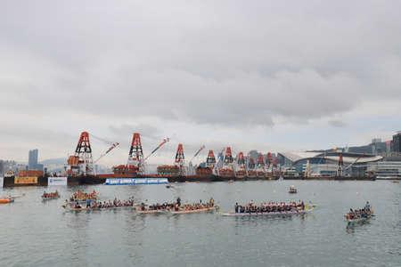 HK International Dragon Boat Races at 2018