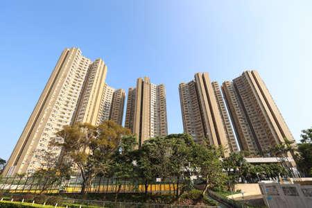 Hong Sing Garden, Tseung Kwan O Town , hong kong  2 May 2020 Editorial