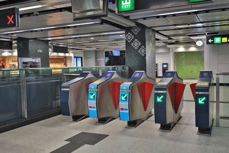 30 April 2020 Entrance of railway station Entrance Of Train Station In Hong Kong