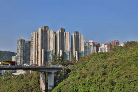 the new twon of Tseung Kwan O Town  2 May 2020 新聞圖片