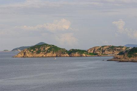 nature view of Shek O Country Park at hong kong