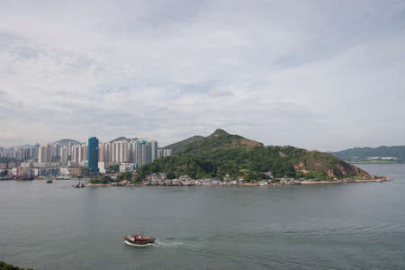 17 June 2006 the Victoria Harbour at Lei Yue Mun, Yau Tong