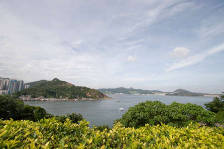 17 June 2006 the view of Lei Yue Mun, hong kong