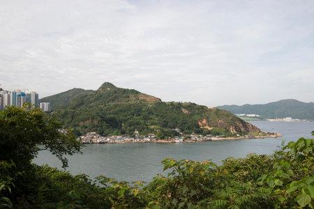 17 June 2006 the view of Lei Yue Mun, hong kong