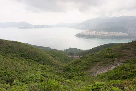 23 April 2006 the landscape view of Mount Collinson, hong kong